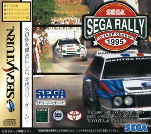 Sega Rally Championship *NEW & SEALED* Sega Saturn NTSC-J
