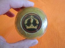 Vintage plastic metal Renault Dauphine 1958 antique emblem logo steering wheel