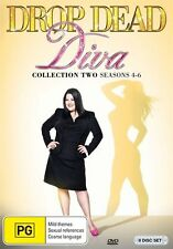 Drop Dead Diva Collection Two (Season 4-6) NEW R4 DVD