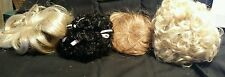 MIXED LOT OF 4 DOLL WIGS, DOLL SUPPLIES, TALLINA'S, NEVER USED