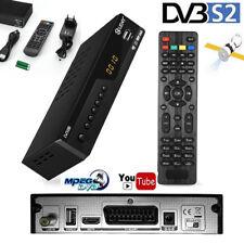 FULL Digital Sat Receiver HDTV HDMI SCART USB 1080p DVB-S2 USB Easy Find 3G Wc
