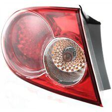 Tail Light For 2003 2005 Mazda 6 Left Outer Hatchbacksedan Factory Installed Fits Mazda 6