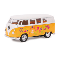 1:34 WELLY Model Car 'Volkswagen 63 T1 Bus' Yellow Colour Metal Age 8+