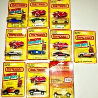 15 NEW Vintage Lesney Matchbox Die-Cast Car Lot