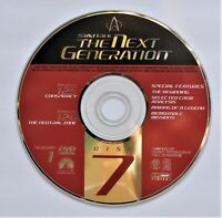 STAR TREK THE NEXT GENERATION - SEASON 1 DISC 7 REPLACEMENT DVD DISC ONLY