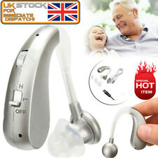 More details for adjustable rechargeable hearing aid digital voice amplifier behind ear sound uk