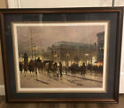 """Framed Print G. Harvey """"An Evening With Mozart"""" Signed Limited 1835/1950 COA"""