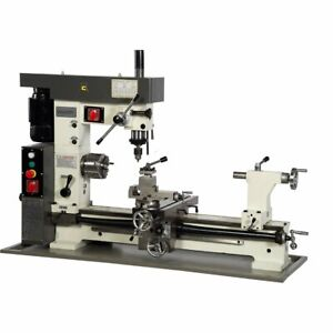 Brand New Chester 3 in 1 Centurion Metalworking Lathe Mill Drill