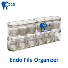 Dental Instruments Endodontic Dsi Endo File Organizer Root Canal Autoclavable