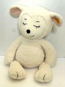 """Steiff Sugar Lamb Plush Cuddly Friends Stuffed Animal 16"""" Tall Lovey NWT"""