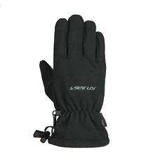 Seirus Innovation Mens Fleece All Weather Form Fit Glove, Black, Medium - NEW