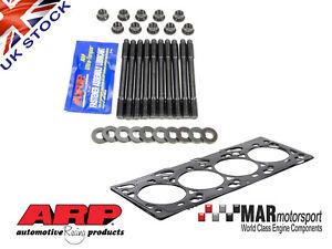 Ford Zetec 1.3mm REINZ MLS Head Gasket & ARP Head stud Kit FOCUS RS MK1   ST170
