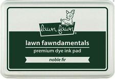 "Lawn Fawn  ""Fawndamentals"" Premium Dye Ink Pad ~  NOBLE FIR ~ Dark Green  ~LF999"