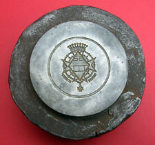 SPAIN  ANTIQUE & RARE MEDAL, MILITARY ORDER OR CONDECORATION  IRON DIE STAMP.