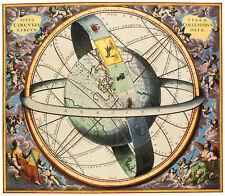 Andreas Cellarius the Celestial sphere poster Art Imprimé Image 47x54cm