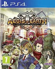 * Playstation 4 NEW SEALED Game * AEGIS OF EARTH * PS4