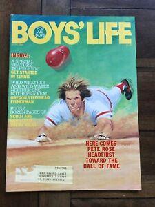 1985 JUNE Boys' Life Magazine Pete Rose Cincinnati Reds Oregon Steelhead Tennis