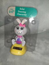 New For 2020- Solar Powered Dancing Toy Bobble Head Easter - Girl Bunny