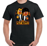 Pulp Fiction T-Shirt Mens The Muppets Parody Top Unisex Tee