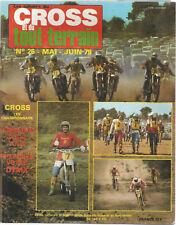 MOTO CROSS ET TOUT TERRAIN REVUE N°24 ET 26 1979