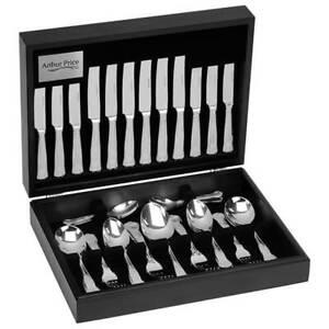 Arthur Price Classic Kings 88 Piece Cutlery Canteen FREE Extra Twelve Tea Spoons