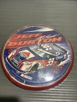 Collector's Nascar Wall Clock - Jeff Burton -  Display Piece Not Working!