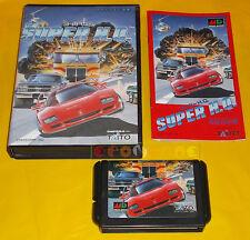 SUPER H.Q. Sega Mega Drive HQ (Chase H.Q. 2) Japanese Version NTSC ○ COMPLETO