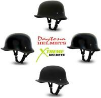 Daytona German Style NOVELTY Half Helmet XS S M L XL 2XL LOW PROFILE