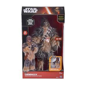 "Star Wars Animatronic Interactive 17"" Smart Looking Figure Chewbacca"