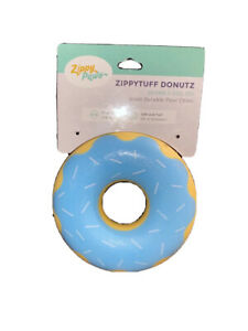 Zippy Paws Zippytuff Blueberry Donutz Squeaky - Dog Toy