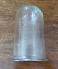 Vintage Verre Glass écran Dôme/Cloison Capot