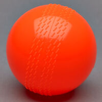 2 x Windball Orange Cricket Soft Indoor training club outdoor wind ball practice