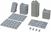 Tamashii OPTION ACT BUILDING DAMAGE Ver Base for Action Figure BANDAI NEW Japan