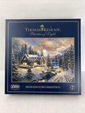 Thomas Kinkade 1000 Piece Jigsaw Puzzle High Country Christmas Painter Of Light