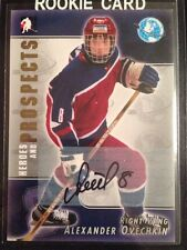 Alex Ovechkin 2004-05 ITG Heroes and Prospects Rookie RC Autograph Auto Capitals