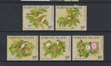 Norfolk Island - 1981, Blanc Torse White-Eye Oiseaux Ensemble - MNH - Sg 269/73