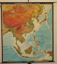 Landkarte Asien.Landkarte Schule In Ansichten Landkarten Von Asien Gunstig