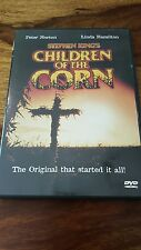 Stephen King 1984 Children of the corn with booklet (dvd 2001)
