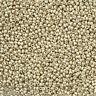 Miyuki Round Size 11/0 Duracoat Galvanized Silver Seed Beads 24g (M102/3)