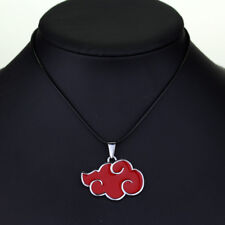 Naruto Akatsuki Red Cloud Cosplay Necklace Pendant Jewelry Hokage Uzumaki