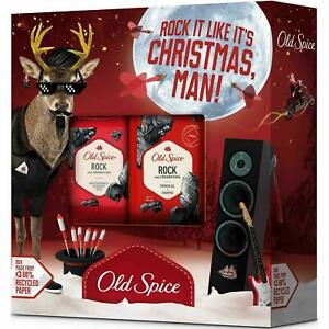 Old Spice Rock Reindeer Gift Set - Mens - Antiperspirant 50ml & Shower Gel 250ml
