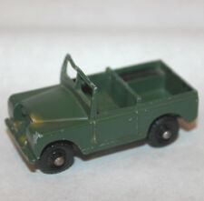 Lesney Land Rover series 2 #12 england green paint vintage 1960s army military