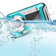 Digital Camera Waterproof 24MP MAX 1080P Double Screen16x Zoom Camcorder USB TT