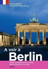 A voir à Berlin von Clemens Beeck (2012, Taschenbuch)