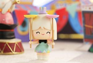 POP MART x MOMIJI Circus Series Spinderella Mini Figure Designer Art Toy New