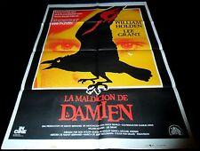 1978 Damien: Omen II ORIGINAL SPAIN POSTER William Holden Antichrist Don Taylor
