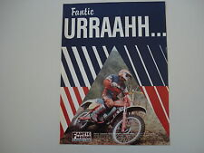 advertising Pubblicità 1981 MOTO FANTIC CABALLERO 125 REGOLARITA' COMPETIZIONE