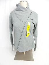 Puma Ladies ASYM Jacket Medium Grey Heather US Size XL NWOT