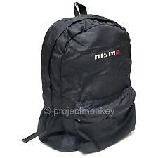 Nismo KWA40-50G30 Basic Lightweight Compact Backpack Back Pack Black Genuine JDM