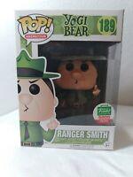 Funko POP Funko Exclusive Yogi Bear Limited Edition 5000 Piece Ranger Smith